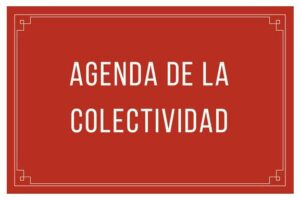 AGENDA DE LA COLECTIVIDAD