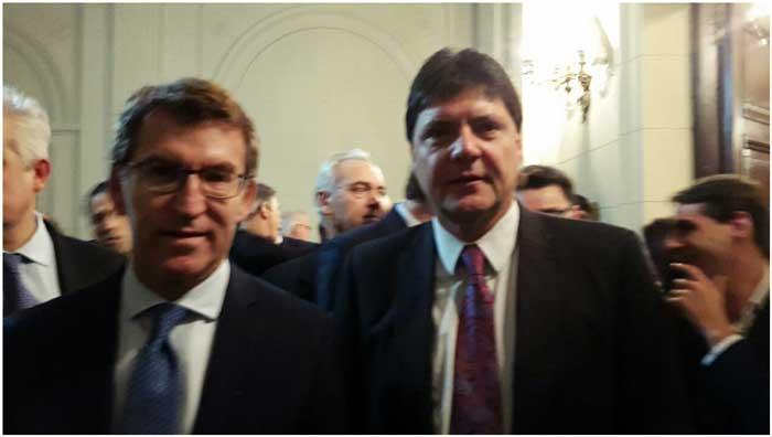 Alberto Núñez Feijóo, presidente de la Xunta, Huésped de Honra de la Ciudad de Buenos Aires