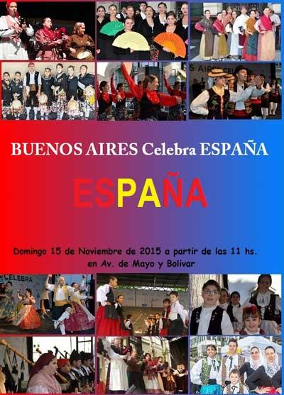 Buenos Aires Celebra España - Domingo 15 de noviembre
