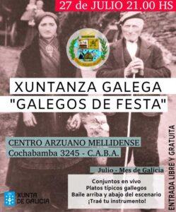 """Celebraciones """"Día de Galicia 2019"""""""