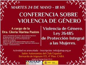 Conferencia-Sobre-Violencia-de-Genero-Dra-Gloria-Pasten-24-05
