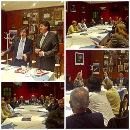 Disertación del Cónsul Adjunto de la Embajada de España -Sr. Dn. Marcos Rodriguez Cantero