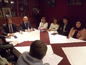 Disertación del Consejero Cultural de la Embajada de España - Sr. Manuel Durán Giménez-Rico