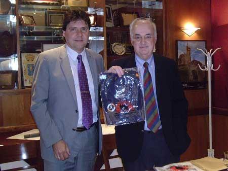 Disertación del Consejero de Educación de la Embajada de España