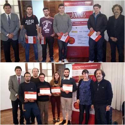 Entrega de Certificados Programa Jóvenes 2015/16