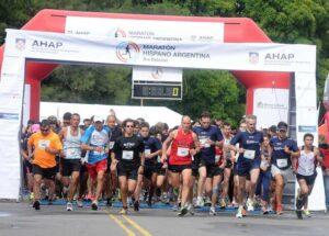 Largada Maratón Hispano Argentina 3ra Edición