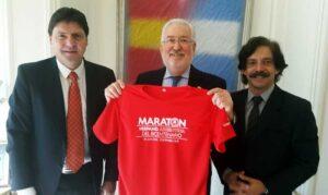 Presentación Camiseta Maratón Hispano Argentina del Bicentenario