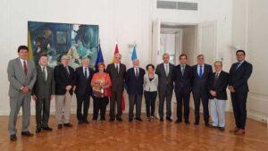 Primer Reunión del Consejo de Administración de Fundación España