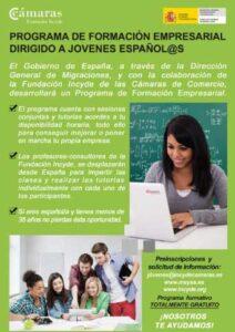 Programa para Jóvenes de Formación Empresarial - Fundación INCYDE