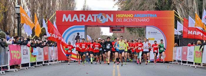 Se corrió la 6º edición de la Maratón Hispano Argentina