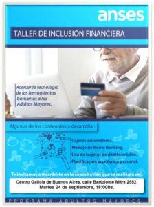 Taller de Inclusión Financiera