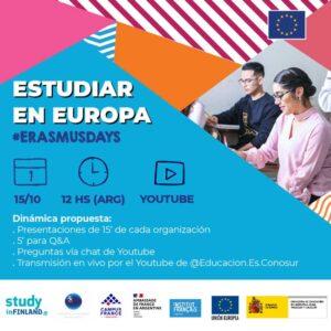 Estudiar en Europa